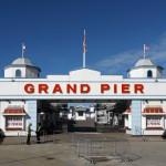 Grand pier entrance